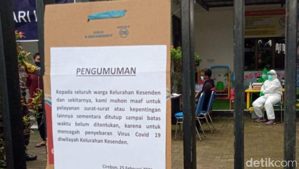Lurahnya Positif Corona, Kelurahan Kesenden Cirebon Ditutup Sementara