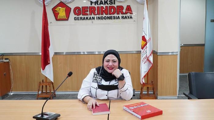 Ketua Fraksi Gerindra DPRD DKI Jakarta Rani Mauliani.
