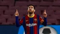 Menanti Aksi Presiden Laporta agar Messi Tetap di Barca