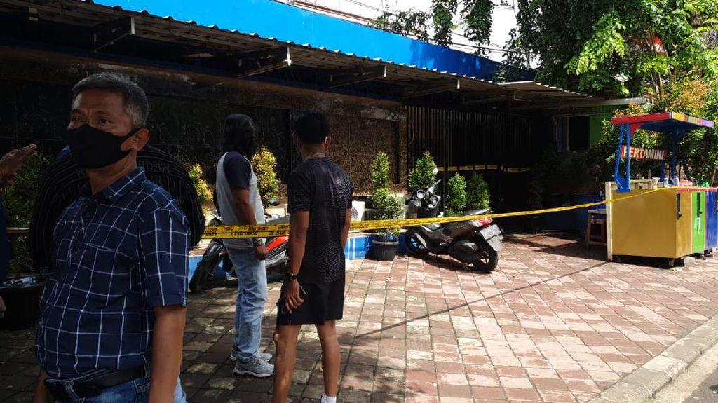 Video Penampakan Lokasi Penembakan di Kafe Cengkareng Jakbar