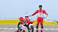 Pebalap AHRT Mario Aji Terjun Lagi di CEV Moto3