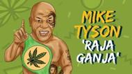 Mike Tyson, Berharta Rp 5,04 M/Bulan dari Kerajaan Ganja