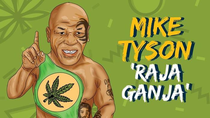 Mike Tyson Bertani Ganja