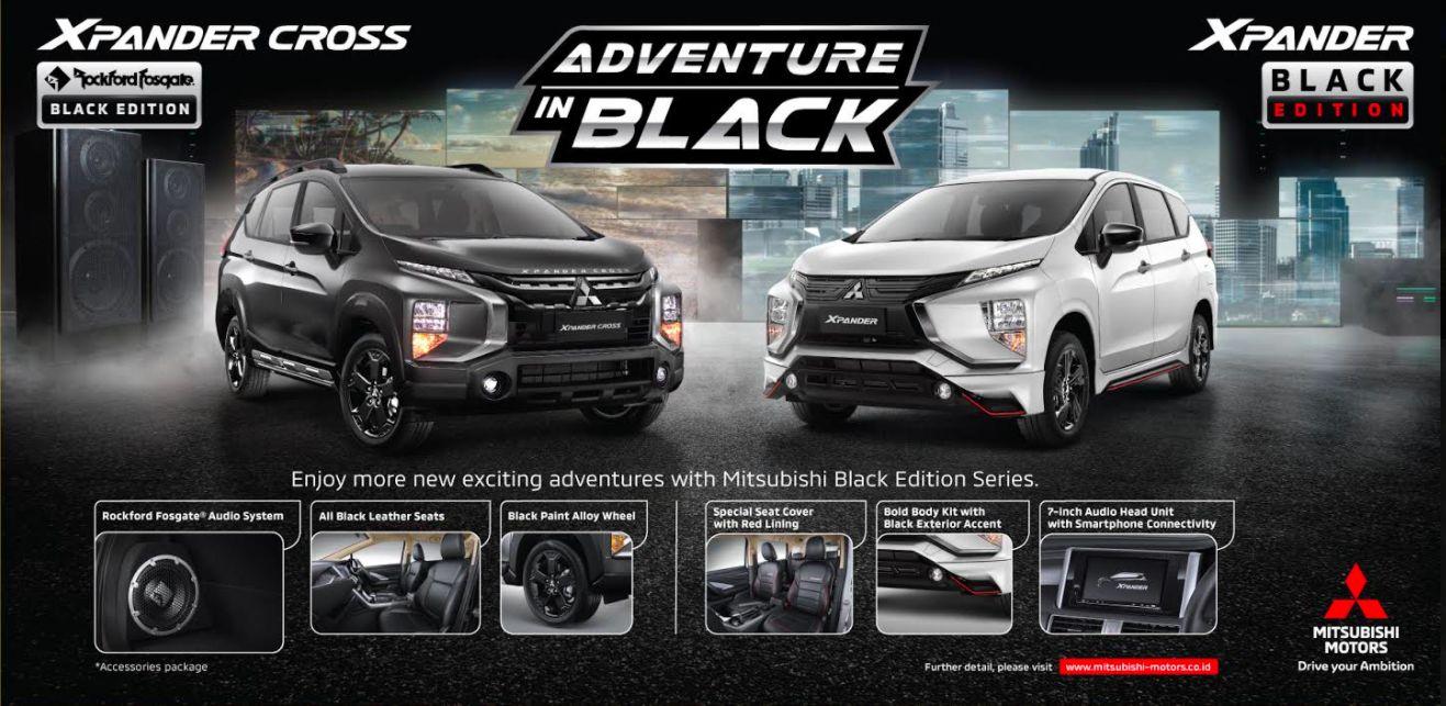 Mitsubishi Xpander Cross Rockford Fosgate Black Edition.
