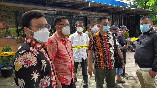 Pejabat Disparekraf DKI Jakarta tiba di RM Cafe (Dok Istimewa/foto diberikan oleh Disparekraf DKI)