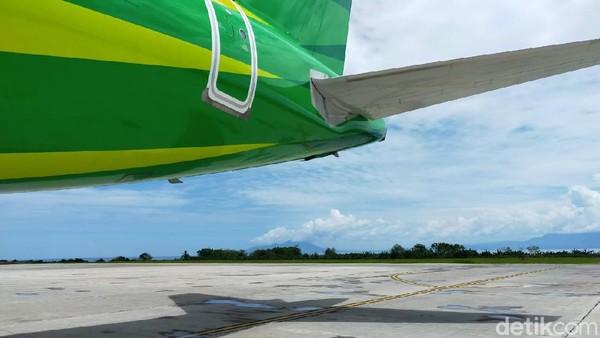 Perjalanan menuju Jakarta dijadwalkan pukul 12.25 WIT dan tiba di Bandara Halim Perdana Kusuma pada pukul 14.00.