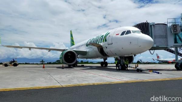 Mulai Kamis (25/2), Citilink membuka penerbangan Jakarta-Ternate. Perjalanan memakan waktu sekitar 3 setengah jam.