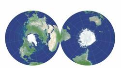 Ilmuwan Bikin Peta Bumi Datar Paling Sempurna