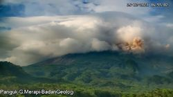 Erupsi Lagi, Gunung Merapi Luncurkan Awan Panas Sejauh 1,9 Km