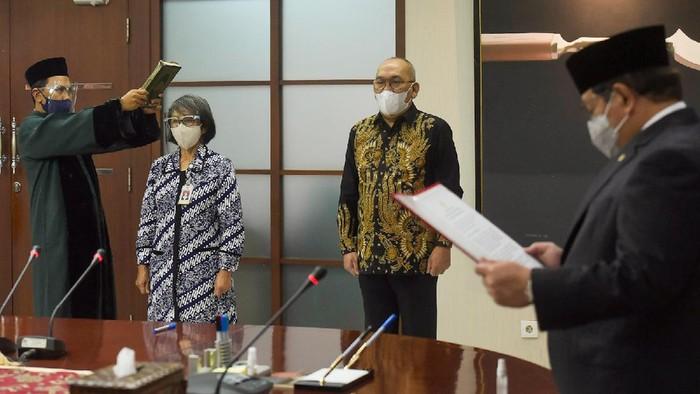 Pramono Anung Lantik Fadlansyah Lubis Jadi Wakil Seskab (Foto: dok Setkab)