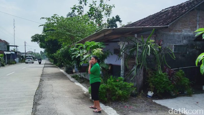 Ruas Jalan Joton-Manisrenggo, Desa Joton, Kecamatan Jogonalan Klaten yang jadi TKP viral penculikan anak SD