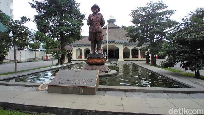 Rumah dinas Wali Kota Solo, Loji Gandrung, Kamis (25/2/2021).