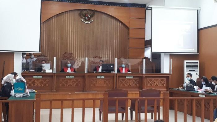 Sidang Jumhur Hidayat (Dwi/detikcom)