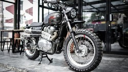 Smoked Garage Bikin Himalayan-Interceptor Jadi Sangar, Dijual Cuma 21 Unit di RI