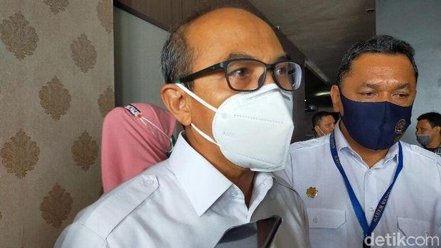 Tenten Wardaya, Vice President Network Management Citilink Indonesia di Bandara Sultan Babullah, Ternate
