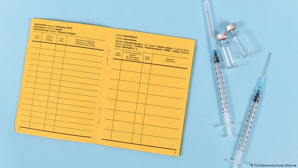 Uni Eropa Pertimbangkan Pemberian Kartu Vaksinasi Covid-19