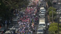 Korban Jiwa Antikudeta Myanmar Berjatuhan Saat Polisi Berondong Tembakan
