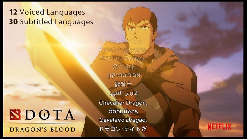 Film Dota: Dragons Blood Siap Dirilis Netflix, Ada Bahasa Indonesia