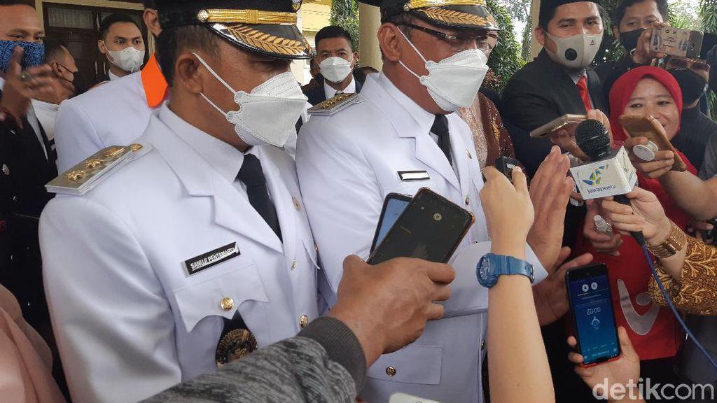 Lantik Wali Kota Cilegon-Bupati Serang, Ini Pesan Gubernur Banten