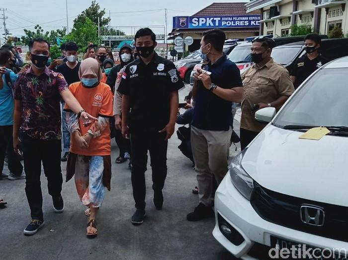 Dua pelaku penculikan bocah di Klaten ditangkap, Jumat (26/2/2021).