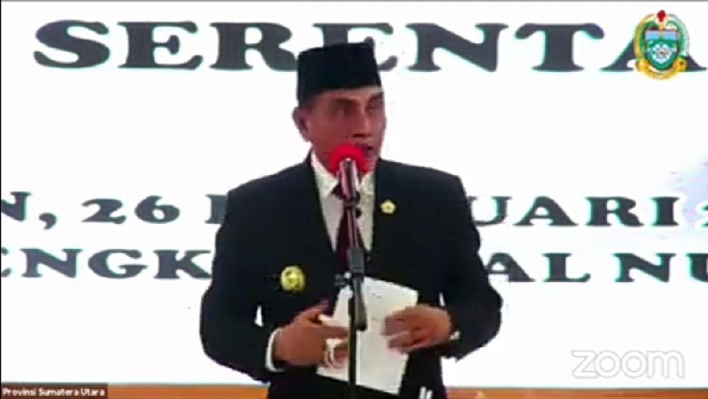 Pesan Gubsu ke Kepala Daerah Baru di Sumut: Dalam Politik, Time is Victory