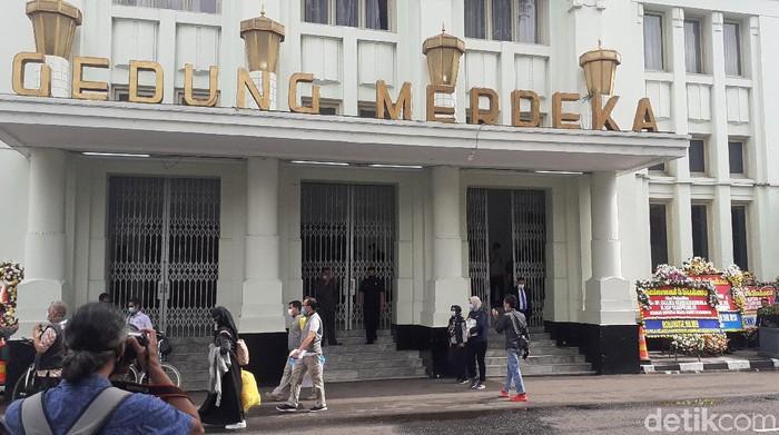 Gedung Merdeka jadi tempat pelantikan kepala daerah di Jabar
