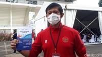 Cerita Indra Sjafri dan Pelatih Naga Api Divaksinasi COVID-19