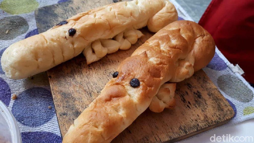Jajan Roti Buaya Mungil Isi Nougat hingga Garlic Butter yang Nikmat