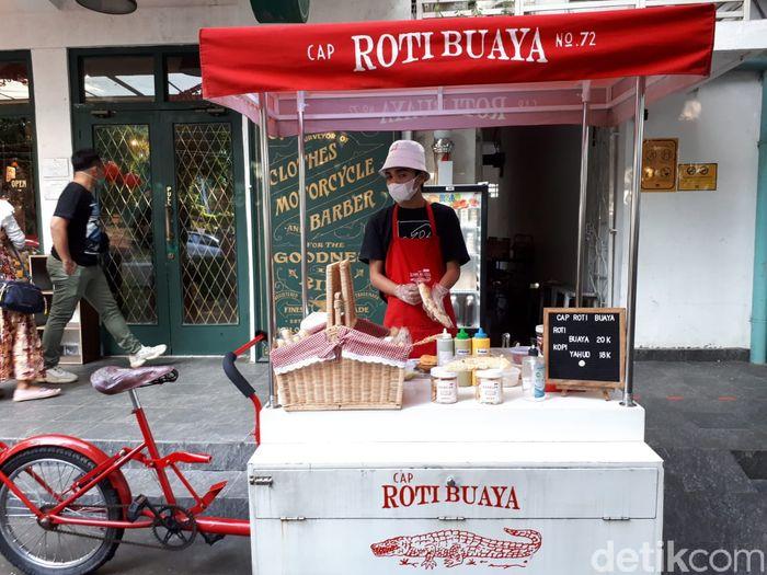 Jajan Roti Buaya di M Bloc Space, Isinya Nougat hingga Garlic Butter
