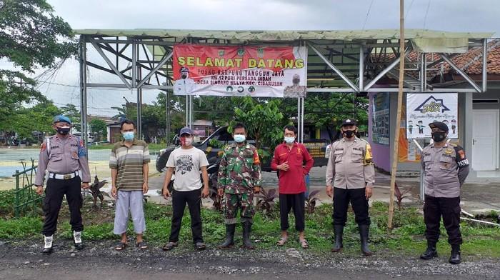 Kampung tangguh jaya di Cibarusah (Dok Polsek Cibarusah)