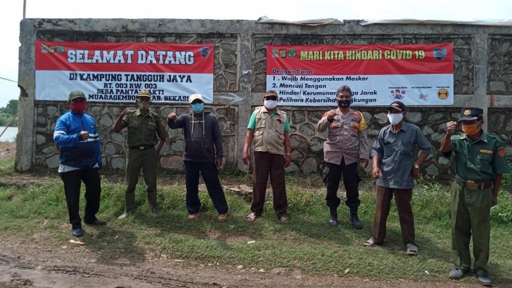 Cerita Kampung Tangguh Jaya Muara Gembong: Tekan Kasus COVID hingga Nol