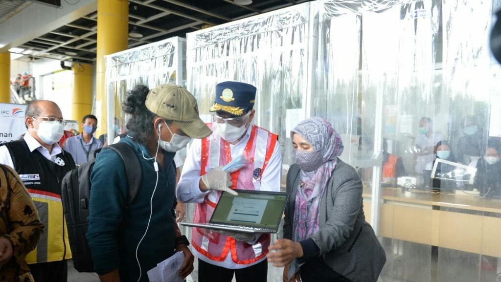 Kemenhub Terapkan GeNose di Pelabuhan Tanjung Priok Mulai Hari Ini