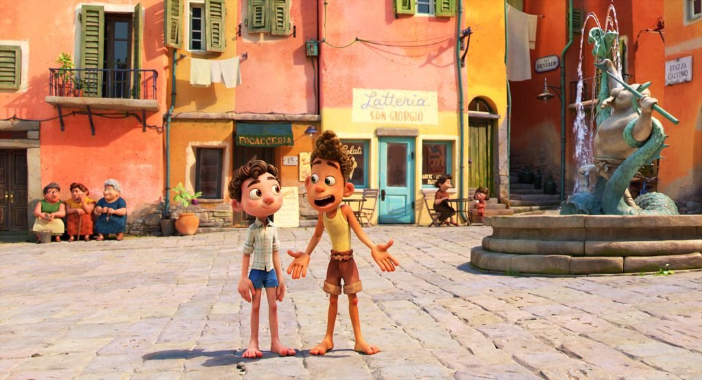 La última película de Disney y Picture Luca.