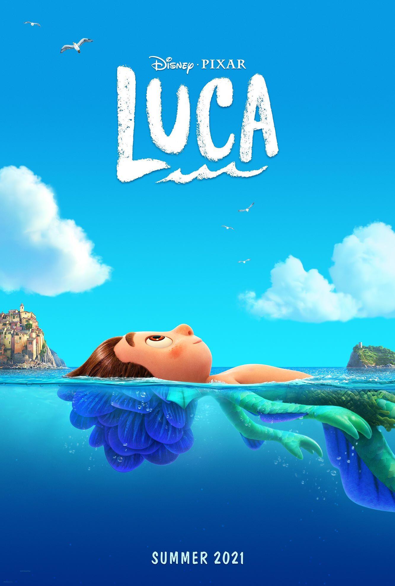 Film terbaru Disney dan Pixar Luca.