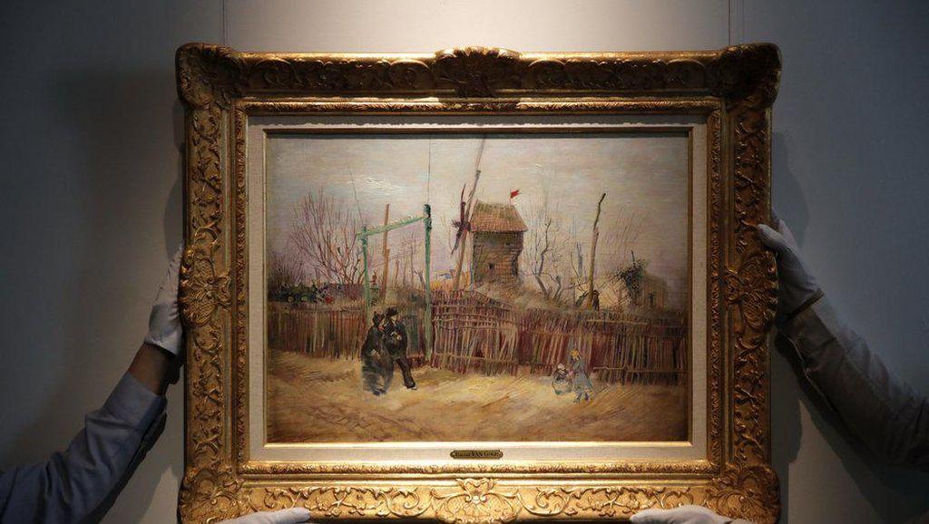 Lukisan Langka Van Gogh Segera Dilelang Rp 139 M