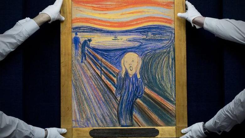 Lukisan The Scream