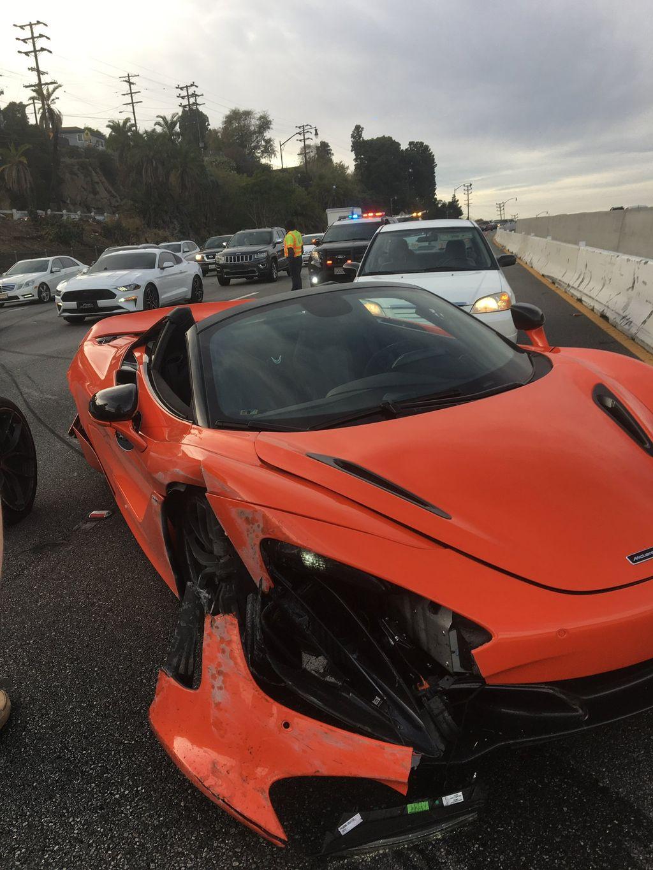 McLaren Sewaan Dipakai Balapan Lawan Lamborghini Berujung Ringsek