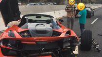 Duh! McLaren Sewaan Malah Dipakai Balapan, Berujung Ringsek