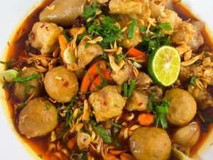 Masak Masak : Mie Bakso Kikil Kuah Mala yang Pedas Nendang