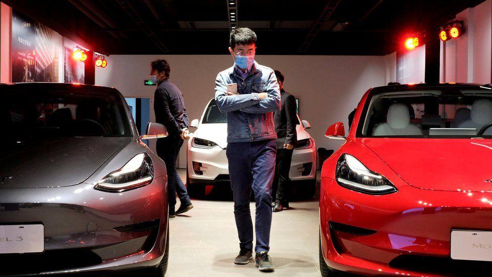 Mobil listrik Tesla Model 3 di China kalah laris dari Hong Guang Mini