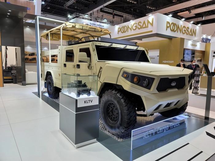 Mobil Militer Kia