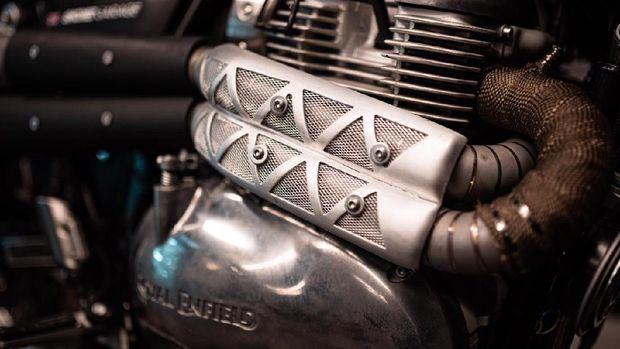 Modifikasi Royal Enfield besutan Smoked Garage