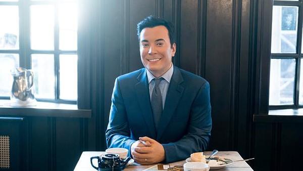Ada pembawa acara NBC, Jimmy Fallon yang akan menemani tamu menyantap hidangan restoran. (Getty Images/Noam Galai)