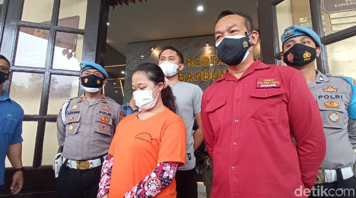Pelaku pembunuhan seorang lansia di Bandung.