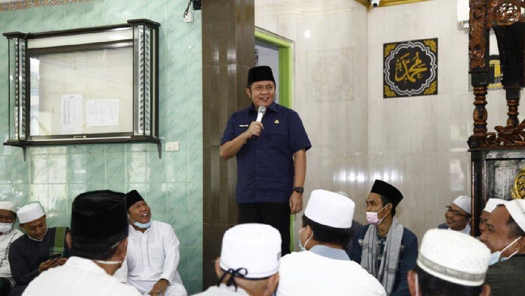 Gubernur Sumsel Bicara Pengalaman Divaksin ke Jemaah Masjid
