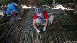 Pesanan Bilik Bambu Meningkat Saat Musim Banjir, Kok Bisa?