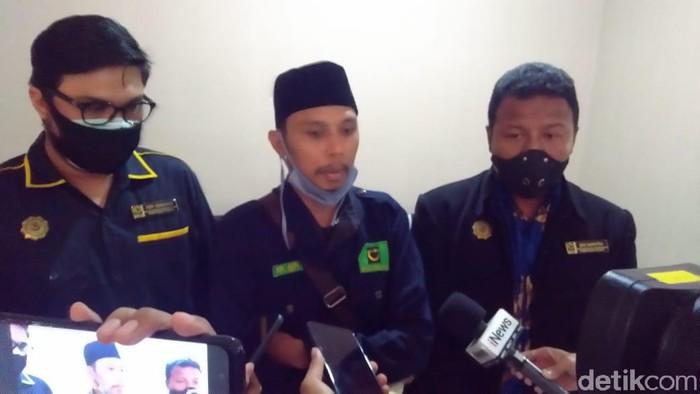 PP GPI laporkan Presiden Jokowi dan Gubernur NTT Viktor Laiskodat ke Bareskrim Polri namun LP tak terbit (Adhyasta/detikcom)