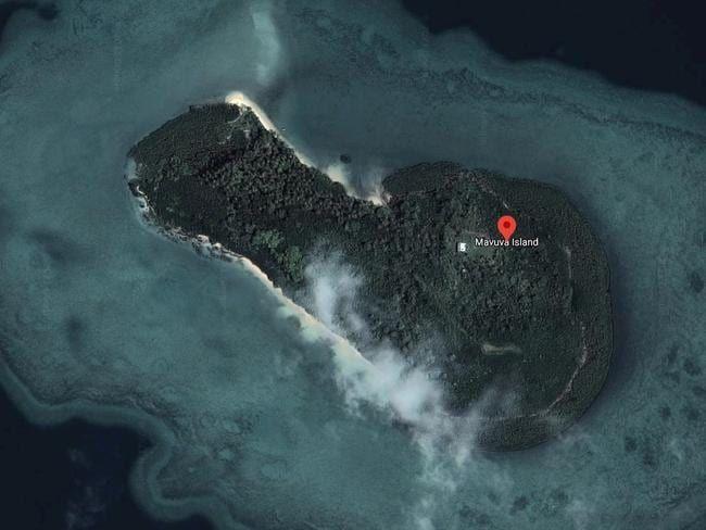 Pulau berbentuk penis