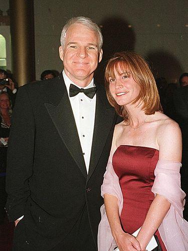 Steve Martin istrinya Anne Stringfield saat hadir di acara Kennedy Center's