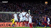 Video: Gol-gol Tendangan Bebas Messi ke Gawang Sevilla